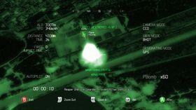 Blant nyhetene i HAWX 2 finner vi avanserte nattbombinger.