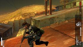 Bilde fra Kojimas seneste spill, PSP-tittelen Metal Gear Solid: Peace Walker