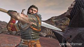 Skjermbilde fra Dragon Age 2.