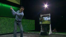 En representant fra EA viste frem bruken av PlayStation Move i Tiger Woods PGA Tour 11.