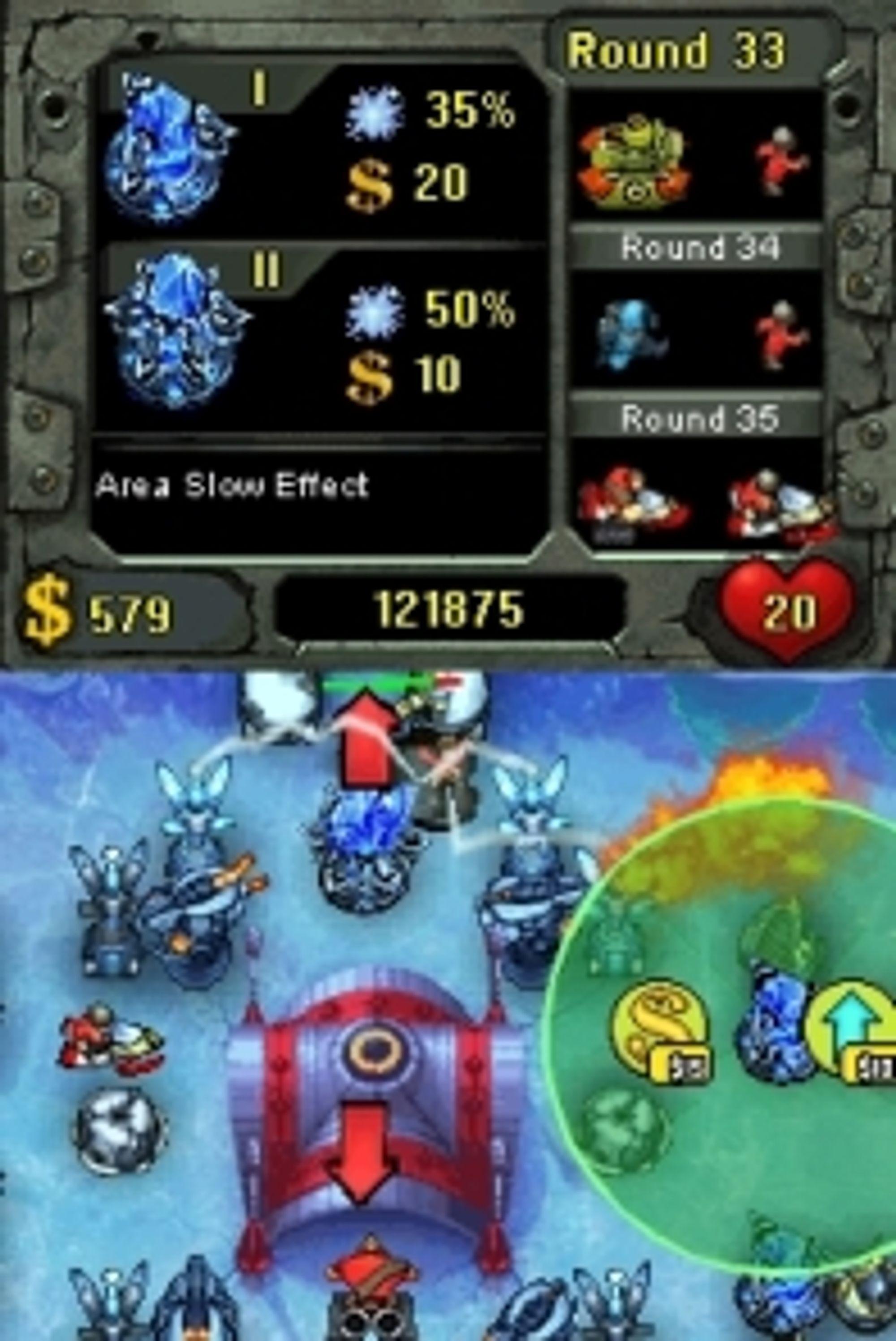 Fieldrunners (PSP, PS3, iPhone og DSi).