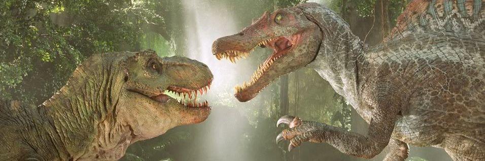 Dinosaurene angriper