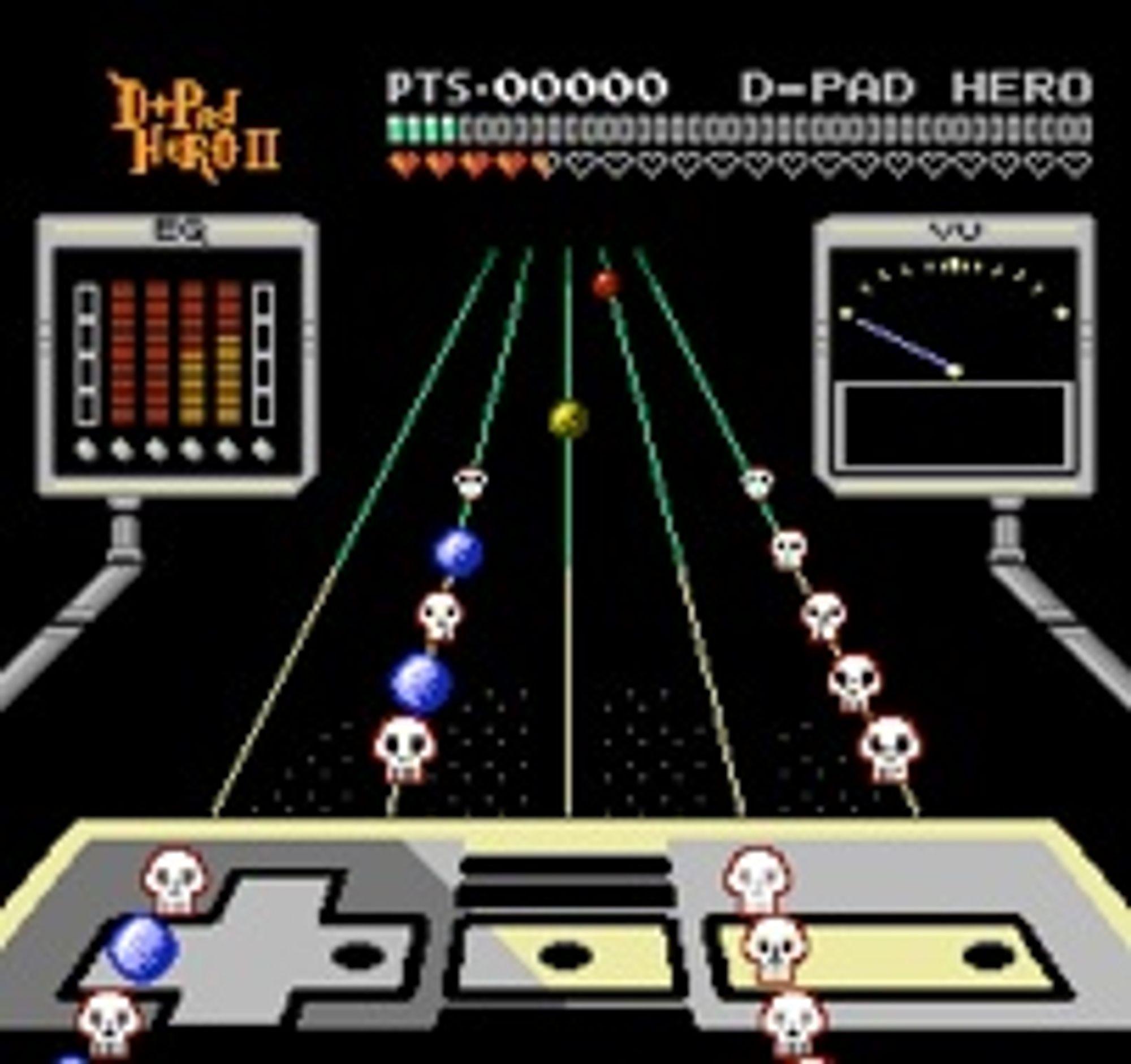 D-Pad Hero 2 (NES).