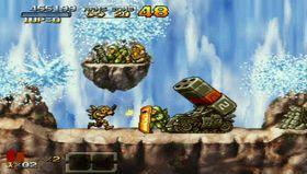 Metal Slug XX (Xbox 360 og PSP, bilde fra PSP).