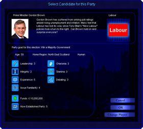 Prime Minister Forever: UK 2010 (PC).
