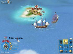 Slik så nyversjonen av Pirates! ut på PC.
