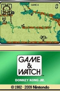 Game & Watch: Donkey Kong Jr. (DSi).