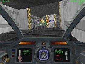 Slik så Descent ut på PC