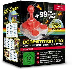 Pakken inneholder også 99 Commodore 64-spill.