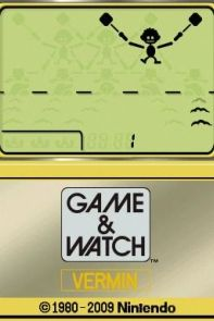 Game & Watch: Vermin (DSi).