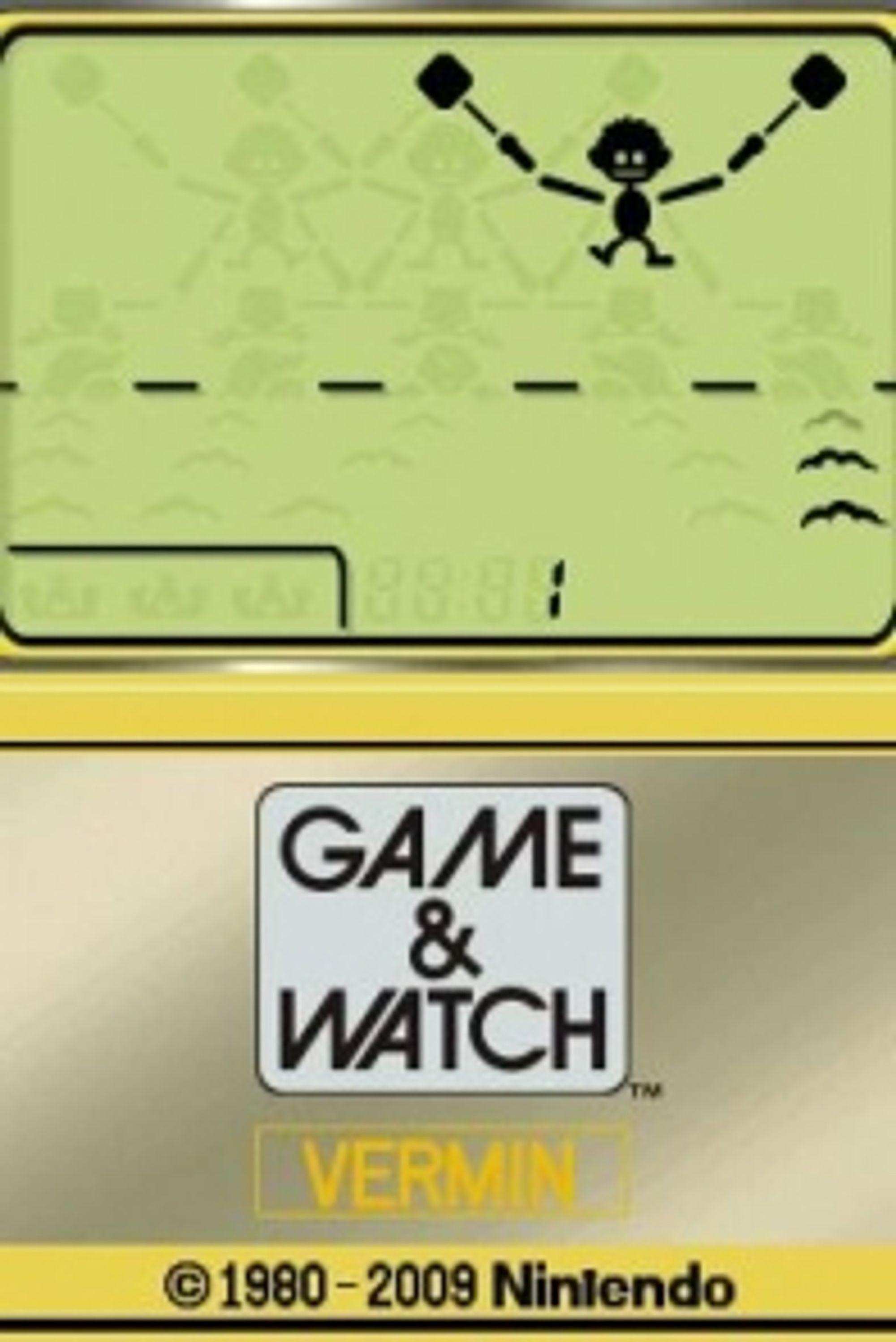 Game & Watch: Vermin (DSi).