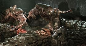 Action i forrige Gears of War.
