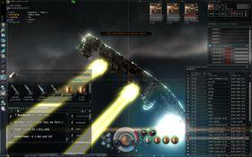 Det er lett å åpne ild i Eve Online