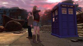 Doktoren og Amy.