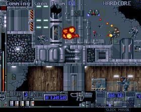 Bilde fra den uferdige Amiga-versjonen.