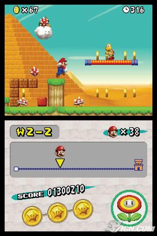 Mario i 3D? (Illustrasjon)