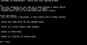 Det originale Colossal Cave Adventure.