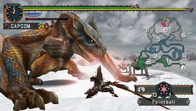Bilde fra Monster Hunter Freedom 2