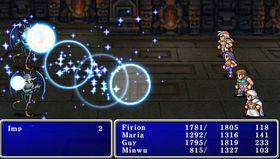 PSP-utgaven av Final Fantasy II.