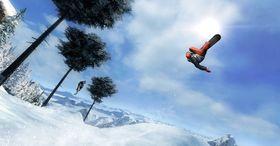 Som du sikkert skjønner er bildene fra Shaun White Snowboarding