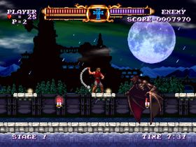 Castlevania: The Adventure Rebirth (Wii).