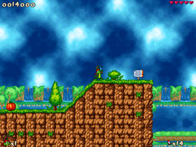 Jazz Jackrabbit 2.5 (PC).