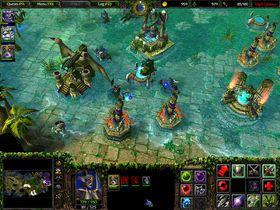 Warcraft III: The Frozen Throne.