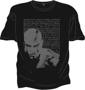 Unik God of War-t-skjorte til de som forhåndsbestiller på arrangementet.