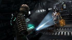 Dead Space er mørkt.