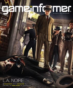 Coveret til GameInformer.