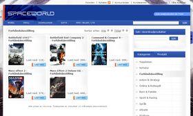 Mass Effect 2 er et av spillene som kan forhåndsbestilles.