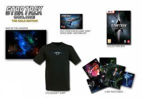 Innholdet i Star Trek Online Gold Edition.