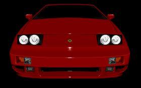 Klassisk sportsbil i hovedrollen.