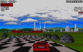 Futuristisk bane i Lotus III.