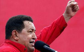 Sier i fra: Hugo Chavez.