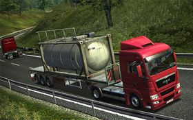 German Truck Simulator (PC).