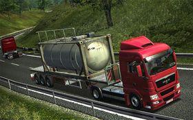 German Truck Simulator (PC).