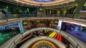 Virtuell spillehall.