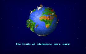 Fra spillets introduksjonssekvens.