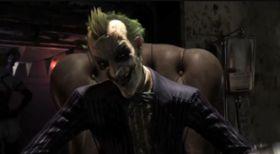 Jokeren skrattler i traileren.