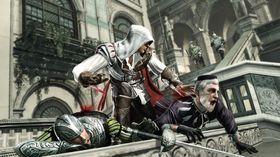Ezio slår ihjel litt tid mens han venter på pakkene