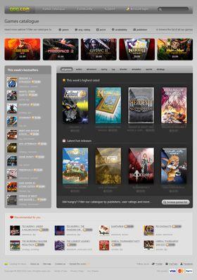GoG.com har gamle og nye spill for en hver smak.