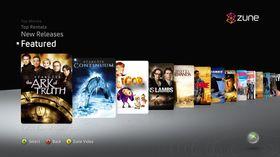 Bilde av den nye Zune-tjenesten