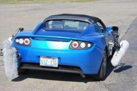 Intervju med en bil (bilde fra Tesla Motors).
