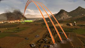 Artilleri mot stridsvogner.