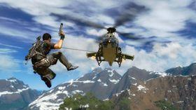 «Det helikopteret er mitt!»