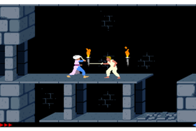 Prince of Persia fra 1989.