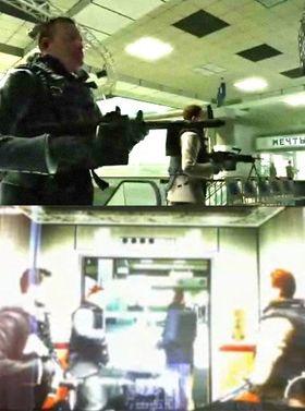Bilder fra den lekkede filmen.