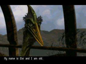 Han heter Eloi, og han er gammel.