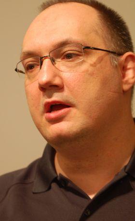 Denis Dyack er en stor tilhenger av Cloud-konseptet (foto: Øystein Furevik/Gamer.no).